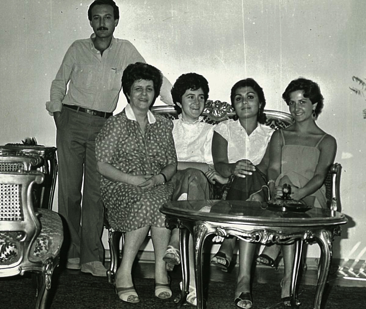 Halil Tarzi with Fatma-Humeyra-Simin-Muazzez